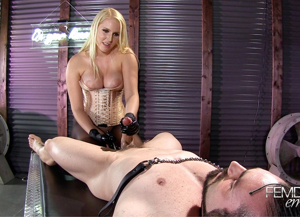 With maria prostate milking video and femdom
